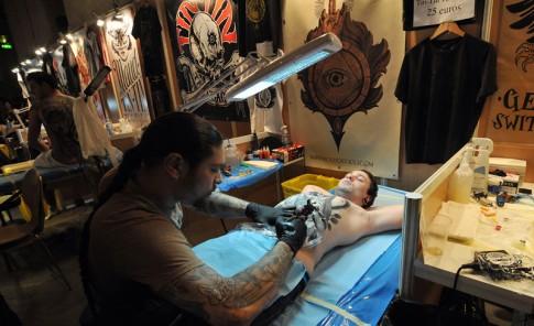 Mundial del Tatuaje en París