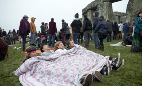 Solsticio de verano en Stonhenge