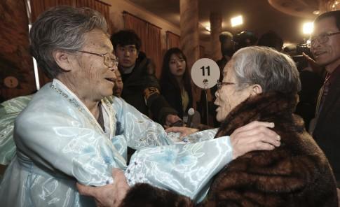 Reencuentro de familias coreanas
