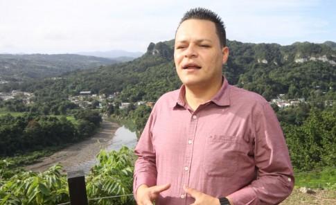 Juan José Rodríguez, alcalde de Ciales.