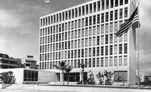 El edificio fue construido en 1953