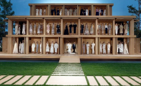 Desfile Chanel en la Semana de la Moda en París