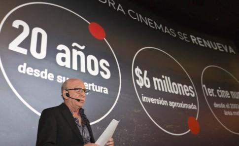El proyecto conllevará una inversión aproximada de $6 millones. Arriba,  Robert Carrady, presidente de Caribbean Cinemas.