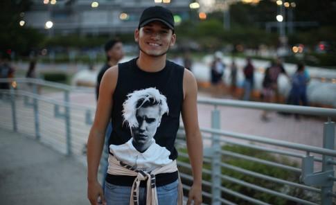 Fans de Justin Bieber en el Choliseo