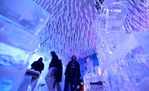 Chillout the Ice Lounge en Duabi