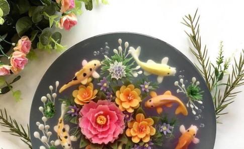 Arte en gelatina 3D