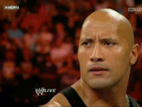 The Rock Dwane Johnson gif