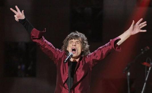 Mick Jagger durante su presentación en el Madison Square Garden.