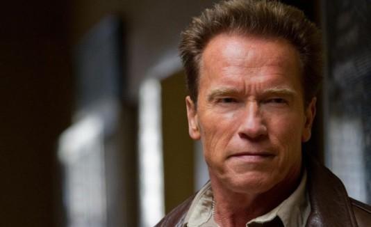 Arnold Schwarzenegger encarna a un avezado sheriff.