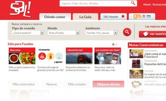 El nuevo portal de Sal! permite reservar en línea sin tener que llamar.