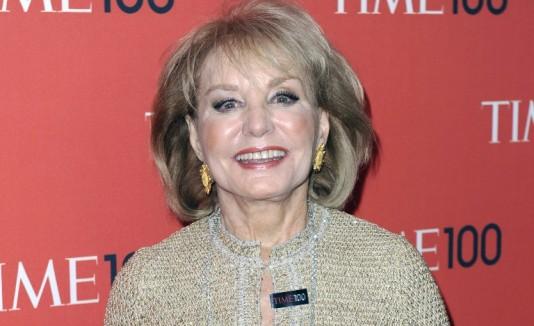 La periodista Barbara Walters anunció su retiro para el 2014.