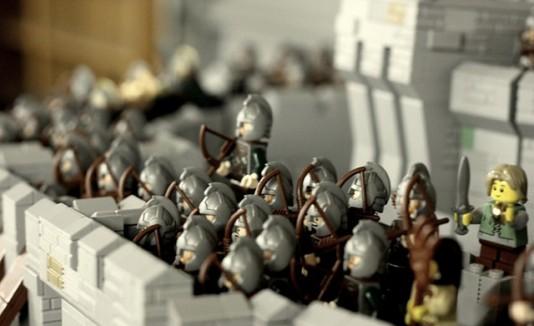 Lord of the Rings en Lego