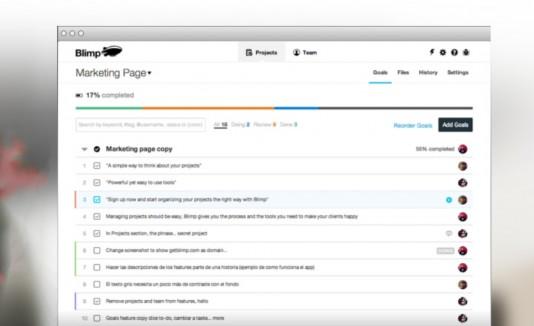 Blimp: una app para grupos de trabajo