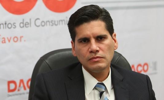 Nery Adames, jefe del DACO.