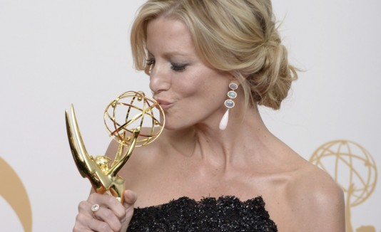 "Anna Gunn, quien interpreta a Skyler en  ""Breaking Bad""."