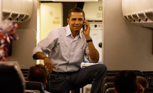 Celular en el avión