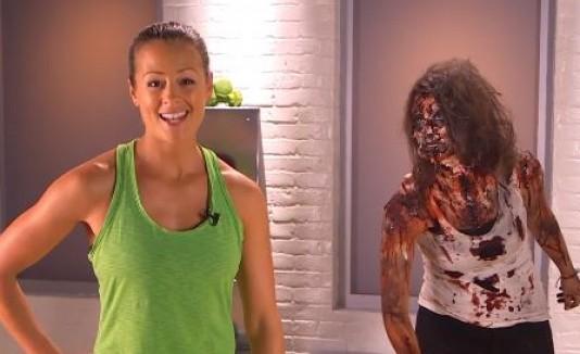 Ejercicios para combatir un zombie