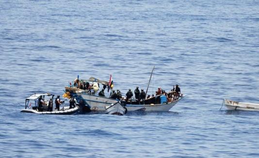 Piratas somalíes
