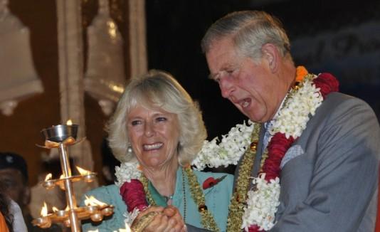 Príncipe Carlos y su esposa Camilla
