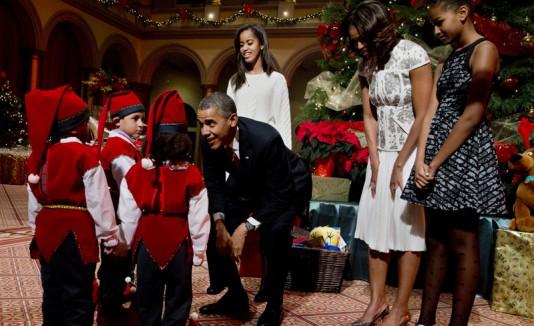 El especial  de Navidad de la familia Obama se transmitirá el viernes por la noche por TNT.