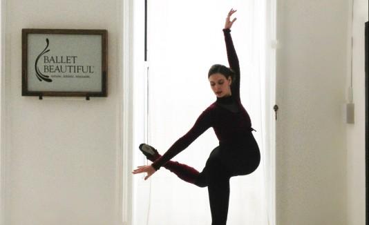 Bailarina embarazada