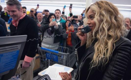 Beyonce de compras