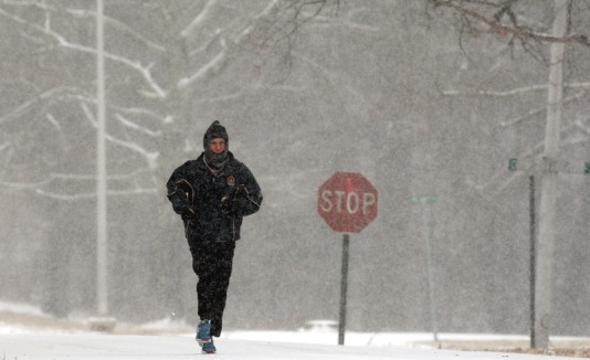 Nieve en NJ