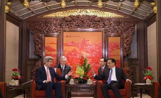 Kerry pide ayuda a China para acercar a Norcorea