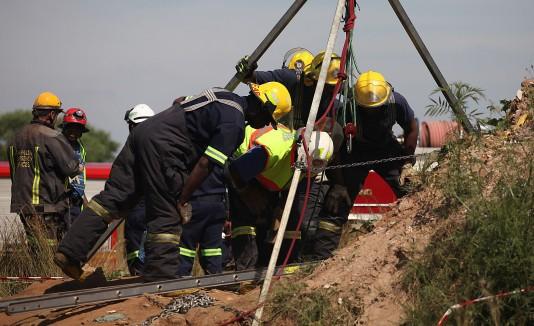 Mineros Sudáfrica