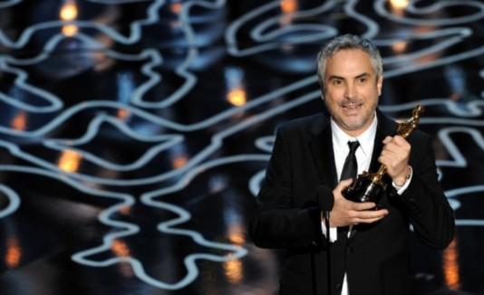 Alfonso Cuarón, director del filme que ganó siete Oscar.