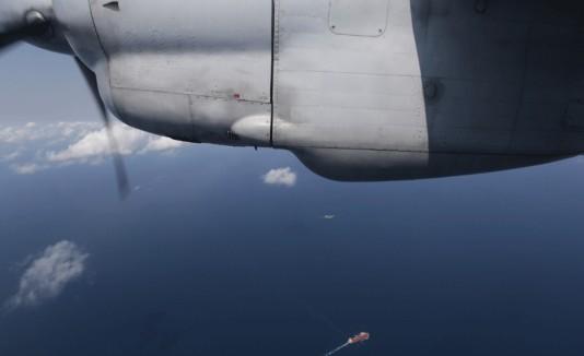 Búsqueda de avión desaparecido