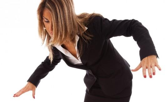 Los pacientes con esclerosis múltiple suelen tropezarse con frecuencia.