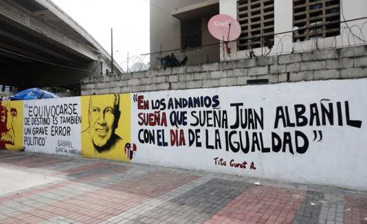Mural en Panamá