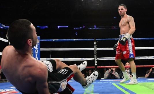"""El mexicano Jorge """"Koky"""" Romero (24-7, 21 KO) será el rival del lareño   Michael """"el Artista"""" Pérez, a la derecha"""