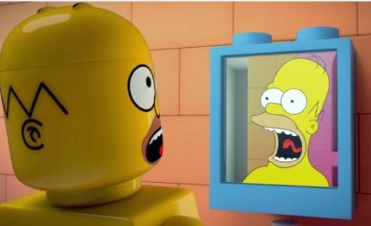 Simpsons como Lego
