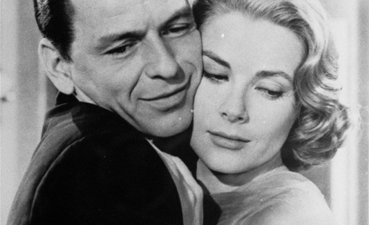 Grace Kelly y Frank Sinatra