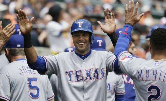 Alexis Ríos, Texas Rangers