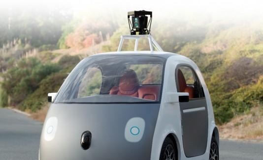 La idea de Google es que el auto te lleve con solo pulsar un botón.