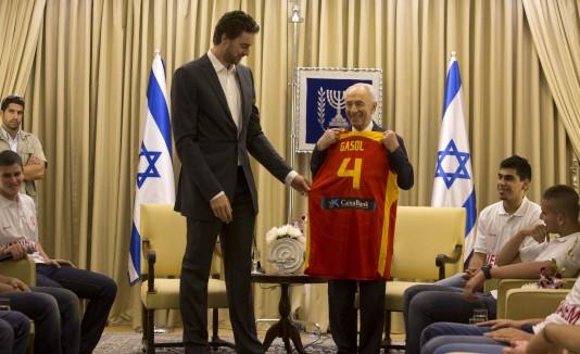 Pau Gasol en Israel