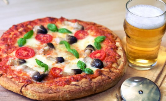 Pizza + Beer