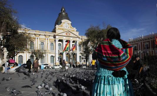 Reloj en Bolivia
