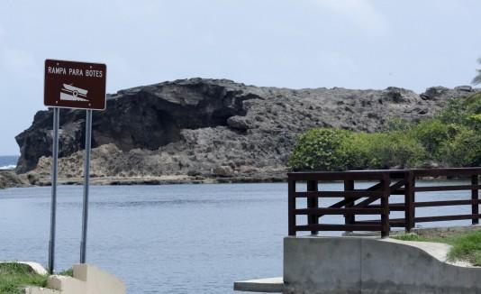 El municipio  de Barceloneta realizó mejoras en la rampa para los botes de los pescadores que laboran en el sector Punta Palmas, y aún falta la construcción de un lugar donde puedan reunirse a diario.
