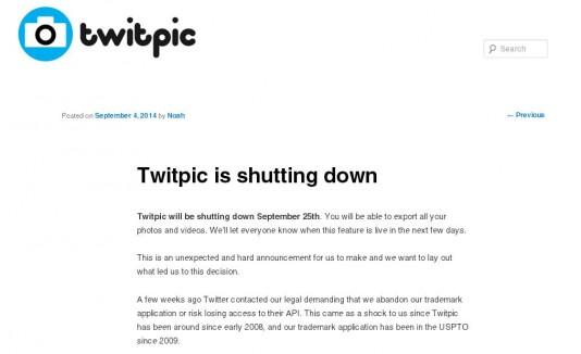Twitpic blog