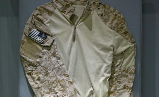 La camisa está expuesta en el Museo del 11S de Nueva York.