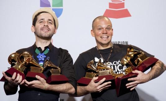 Calle 13 Grammy