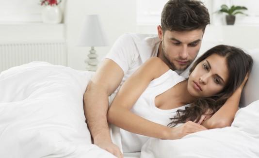 No hay pasión en la pareja
