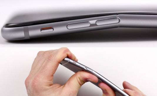 iPhone 6 se dobla