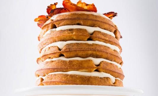 Waffle Bacon