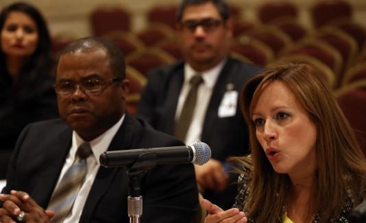 Laura M. Vélez Vélez es la  presidenta de la JCA.