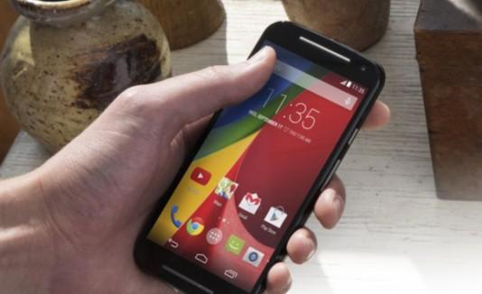 El Moto G cuenta con el sistema operativo Android más reciente.